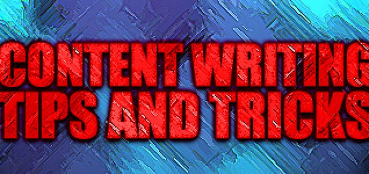 content writing tips and tricks